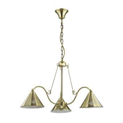 Люстра Lumion 3517/3 ANAKANAПодвесные<br>Стильный и лаконичный светильник Anakana больше создан для локального освещения столовой, игровой или гостиной зоны. Основание из металла бронзового цвета с безупречной матовой поверхностью выглядит строго, безупречно, и несомненно станет самым заметным предметом интерьера<br><br>S освещ. до, м2: 9<br>Тип лампы: Накаливания / энергосбережения / светодиодная<br>Тип цоколя: E27<br>Количество ламп: 3<br>Диаметр, мм мм: 700<br>Высота, мм: 420 - 850<br>Оттенок (цвет): матовый бронзовый<br>MAX мощность ламп, Вт: 60