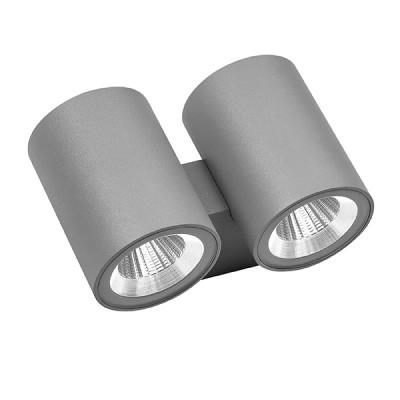 Светильник Lightstar 352692 PAROуличные настенные светильники<br>Крепление: a45; Внешние габариты: L97 W149 H90; Материал - основание/плафон: металл; Цвет-основание/плафон: серый; Лампа: LED 2*2*6W, Световой поток: 1920LM; Угол рассеивания: 24G; Встроенный транcформатор 3000К;<br><br>Крепление: планка<br>Цветовая t, К: 3000K<br>Тип лампы: LED - светодиодная<br>Тип цоколя: LED<br>Цвет арматуры: Серый<br>Количество ламп: 2<br>Ширина, мм: 149<br>Высота полная, мм: 90<br>Диаметр врезного отверстия, мм: 56<br>Длина, мм: 97<br>Поверхность арматуры: матовая<br>Оттенок (цвет): серый<br>MAX мощность ламп, Вт: 6