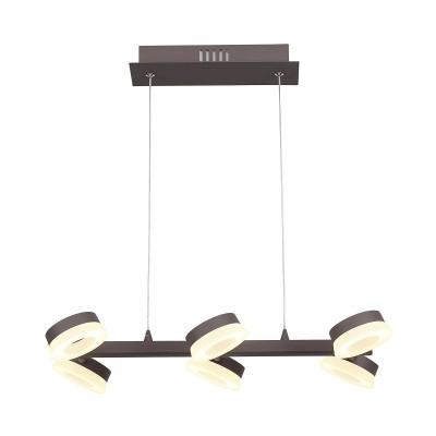 Подвесной светильник Odeon light 3537/6L WENGELINAдлинные подвесные светильники<br><br><br>Цветовая t, К: 3000K<br>Тип лампы: LED - светодиодная<br>Тип цоколя: LED, встроенные светодиоды<br>Цвет арматуры: коричневый<br>Количество ламп: 6<br>Ширина, мм: 490<br>Длина, мм: 275<br>Высота, мм: 1200<br>Поверхность арматуры: матовая<br>Оттенок (цвет): коричневый<br>MAX мощность ламп, Вт: 6