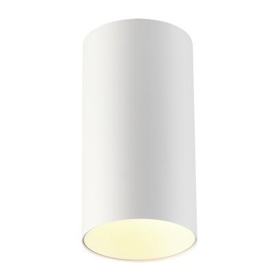 Потолочный накладной светильник Odeon light 3557/1C PRODYкруглые светильники<br><br><br>Тип лампы: галогенная/LED - светодиодная<br>Тип цоколя: GU10<br>Цвет арматуры: белый<br>Количество ламп: 1<br>Ширина, мм: 110<br>Длина, мм: 110<br>Высота, мм: 210<br>Поверхность арматуры: матовая<br>Оттенок (цвет): белый<br>MAX мощность ламп, Вт: 50