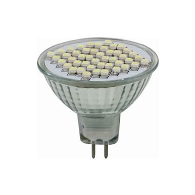 Novotech 357005 Светодиодная лампаЗеркальные MR16 - 5.3<br>В интернет-магазине «Светодом» можно купить не только люстры и светильники, но и лампочки. В нашем каталоге представлены светодиодные, галогенные, энергосберегающие модели и лампы накаливания. В ассортименте имеются изделия разной мощности, поэтому у нас Вы сможете приобрести все необходимое для освещения.   Лампа Novotech 357005 обеспечит отличное качество освещения. При покупке ознакомьтесь с параметрами в разделе «Характеристики», чтобы не ошибиться в выборе. Там же указано, для каких осветительных приборов Вы можете использовать лампу Novotech 357005Novotech 357005.   Для оформления покупки воспользуйтесь «Корзиной». При наличии вопросов Вы можете позвонить нашим менеджерам по одному из контактных номеров. Мы доставляем заказы в Москву, Екатеринбург и другие города России.<br><br>Тип лампы: LED - светодиодная<br>Тип цоколя: GX5.3<br>Количество ламп: 46LED<br>MAX мощность ламп, Вт: 2.8W<br>Цвет арматуры: алюминиевый радиатор