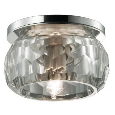 Novotech GLITZ 357045 Встраиваемый светильникКруглые<br>Встраиваемые светильники – популярное осветительное оборудование, которое можно использовать в качестве основного источника или в дополнение к люстре. Они позволяют создать нужную атмосферу атмосферу и привнести в интерьер уют и комфорт.   Интернет-магазин «Светодом» предлагает стильный встраиваемый светильник Novotech 357045. Данная модель достаточно универсальна, поэтому подойдет практически под любой интерьер. Перед покупкой не забудьте ознакомиться с техническими параметрами, чтобы узнать тип цоколя, площадь освещения и другие важные характеристики.   Приобрести встраиваемый светильник Novotech 357045 в нашем онлайн-магазине Вы можете либо с помощью «Корзины», либо по контактным номерам. Мы развозим заказы по Москве, Екатеринбургу и остальным российским городам.<br><br>S освещ. до, м2: 2<br>Цветовая t, К: 6500<br>Тип лампы: галогенная<br>Тип цоколя: G9<br>Количество ламп: 1 / 4<br>MAX мощность ламп, Вт: 40<br>Диаметр, мм мм: 80<br>Диаметр врезного отверстия, мм: 65<br>Высота, мм: 72<br>Цвет арматуры: серебристый