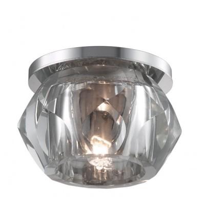 Novotech GLITZ 357046 Встраиваемый светильникКруглые LED<br>Встраиваемые светильники – популярное осветительное оборудование, которое можно использовать в качестве основного источника или в дополнение к люстре. Они позволяют создать нужную атмосферу атмосферу и привнести в интерьер уют и комфорт.   Интернет-магазин «Светодом» предлагает стильный встраиваемый светильник Novotech 357046. Данная модель достаточно универсальна, поэтому подойдет практически под любой интерьер. Перед покупкой не забудьте ознакомиться с техническими параметрами, чтобы узнать тип цоколя, площадь освещения и другие важные характеристики.   Приобрести встраиваемый светильник Novotech 357046 в нашем онлайн-магазине Вы можете либо с помощью «Корзины», либо по контактным номерам. Мы развозим заказы по Москве, Екатеринбургу и остальным российским городам.<br><br>S освещ. до, м2: 2<br>Цветовая t, К: 6500<br>Тип лампы: галогенная<br>Тип цоколя: G9<br>Количество ламп: 1 / 4<br>MAX мощность ламп, Вт: 40<br>Диаметр, мм мм: 90<br>Диаметр врезного отверстия, мм: 65<br>Высота, мм: 72<br>Цвет арматуры: серебристый