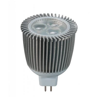 Novotech 357076 Лампа светодиоднаяЗеркальные MR16 - 5.3<br>В интернет-магазине «Светодом» можно купить не только люстры и светильники, но и лампочки. В нашем каталоге представлены светодиодные, галогенные, энергосберегающие модели и лампы накаливания. В ассортименте имеются изделия разной мощности, поэтому у нас Вы сможете приобрести все необходимое для освещения.   Лампа Novotech 357076 обеспечит отличное качество освещения. При покупке ознакомьтесь с параметрами в разделе «Характеристики», чтобы не ошибиться в выборе. Там же указано, для каких осветительных приборов Вы можете использовать лампу Novotech 357076Novotech 357076.   Для оформления покупки воспользуйтесь «Корзиной». При наличии вопросов Вы можете позвонить нашим менеджерам по одному из контактных номеров. Мы доставляем заказы в Москву, Екатеринбург и другие города России.<br><br>Цветовая t, К: тепл.бел.свет<br>Тип лампы: LED - светодиодная<br>Тип цоколя: GX5.3 (GU5.3)<br>MAX мощность ламп, Вт: 3.2W<br>Диаметр, мм мм: 50<br>Высота, мм: 69