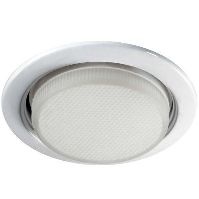 Novotech TABLET 357109 Встраиваемый светильникЭнергосберегающие<br>Встраиваемые светильники – популярное осветительное оборудование, которое можно использовать в качестве основного источника или в дополнение к люстре. Они позволяют создать нужную атмосферу атмосферу и привнести в интерьер уют и комфорт.   Интернет-магазин «Светодом» предлагает стильный встраиваемый светильник Novotech 357109. Данная модель достаточно универсальна, поэтому подойдет практически под любой интерьер. Перед покупкой не забудьте ознакомиться с техническими параметрами, чтобы узнать тип цоколя, площадь освещения и другие важные характеристики.   Приобрести встраиваемый светильник Novotech 357109 в нашем онлайн-магазине Вы можете либо с помощью «Корзины», либо по контактным номерам. Мы развозим заказы по Москве, Екатеринбургу и остальным российским городам.<br><br>S освещ. до, м2: 2<br>Тип лампы: люминесцентная<br>Тип цоколя: GX53<br>MAX мощность ламп, Вт: 12<br>Диаметр, мм мм: 10.июл<br>Диаметр врезного отверстия, мм: 95<br>Цвет арматуры: белый