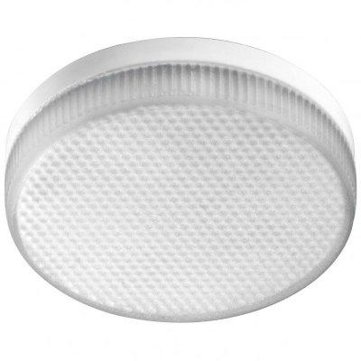 Novotech 357121 Лампа освещенияТаблетки GX53, GX70<br>В интернет-магазине «Светодом» можно купить не только люстры и светильники, но и лампочки. В нашем каталоге представлены светодиодные, галогенные, энергосберегающие модели и лампы накаливания. В ассортименте имеются изделия разной мощности, поэтому у нас Вы сможете приобрести все необходимое для освещения.   Лампа Novotech 357121 обеспечит отличное качество освещения. При покупке ознакомьтесь с параметрами в разделе «Характеристики», чтобы не ошибиться в выборе. Там же указано, для каких осветительных приборов Вы можете использовать лампу Novotech 357121Novotech 357121.   Для оформления покупки воспользуйтесь «Корзиной». При наличии вопросов Вы можете позвонить нашим менеджерам по одному из контактных номеров. Мы доставляем заказы в Москву, Екатеринбург и другие города России.<br><br>Цветовая t, К: CW - холодный белый 4000 К<br>Тип лампы: Энергосберегающая<br>Тип цоколя: GX53<br>Количество ламп: 80 LED<br>Диаметр, мм мм: 75<br>Высота, мм: 28