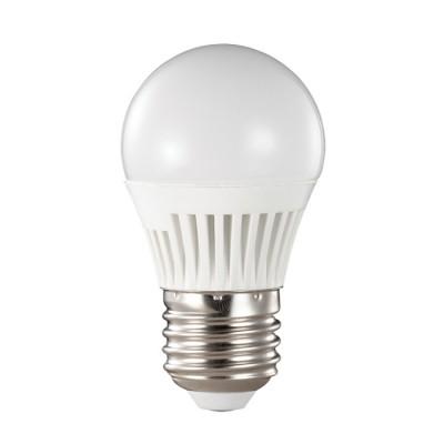 Novotech 357131 Лампа светодиоднаяВ виде шарика<br>В интернет-магазине «Светодом» можно купить не только люстры и светильники, но и лампочки. В нашем каталоге представлены светодиодные, галогенные, энергосберегающие модели и лампы накаливания. В ассортименте имеются изделия разной мощности, поэтому у нас Вы сможете приобрести все необходимое для освещения.   Лампа Novotech 357131 обеспечит отличное качество освещения. При покупке ознакомьтесь с параметрами в разделе «Характеристики», чтобы не ошибиться в выборе. Там же указано, для каких осветительных приборов Вы можете использовать лампу Novotech 357131Novotech 357131.   Для оформления покупки воспользуйтесь «Корзиной». При наличии вопросов Вы можете позвонить нашим менеджерам по одному из контактных номеров. Мы доставляем заказы в Москву, Екатеринбург и другие города России.<br><br>Цветовая t, К: CW - холодный белый 4000 К<br>Тип лампы: LED - светодиодная<br>Тип цоколя: E27<br>MAX мощность ламп, Вт: 4<br>Диаметр, мм мм: 45<br>Длина, мм: 80