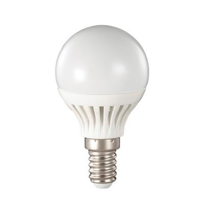 Novotech 357133 Лампа светодиоднаяВ виде шарика<br>В интернет-магазине «Светодом» можно купить не только люстры и светильники, но и лампочки. В нашем каталоге представлены светодиодные, галогенные, энергосберегающие модели и лампы накаливания. В ассортименте имеются изделия разной мощности, поэтому у нас Вы сможете приобрести все необходимое для освещения.   Лампа Novotech 357133 обеспечит отличное качество освещения. При покупке ознакомьтесь с параметрами в разделе «Характеристики», чтобы не ошибиться в выборе. Там же указано, для каких осветительных приборов Вы можете использовать лампу Novotech 357133Novotech 357133.   Для оформления покупки воспользуйтесь «Корзиной». При наличии вопросов Вы можете позвонить нашим менеджерам по одному из контактных номеров. Мы доставляем заказы в Москву, Екатеринбург и другие города России.<br><br>Цветовая t, К: CW - холодный белый 4000 К<br>Тип лампы: LED - светодиодная<br>Тип цоколя: E14<br>MAX мощность ламп, Вт: 4<br>Диаметр, мм мм: 45<br>Высота, мм: 80