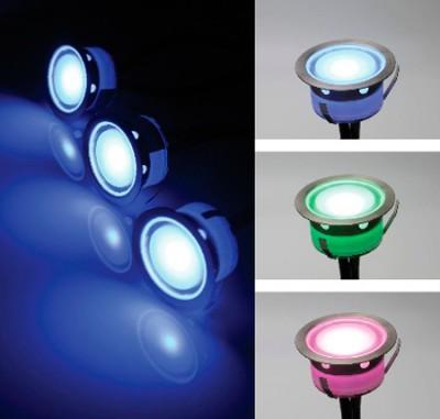 Novotech LED DECK 357142 Светильинк для бассейнаДля бассейна<br>Ландшафтный встраиваемый светодиодный светильник модели Novotech 357142 из серии LED DECK отличается следующим качеством: Корпус светильника сделано из нержавеющей стали. Её главным преимуществом является  большой период эксплуатации. Сталь по праву можно считать вечным материалом. Так  же преимуществами являются устойчивость к химическим, атмосферным и механическим воздействиям и эстетичный внешний вид. Благодаря зеркальной полировке,  обеспечивается высокая стойкость металла к коррозии. Рассеиватель сделан из закаленного стекла. Оно выдерживает температуру от -70 до 250С., а так же в 5-6 раз прочнее обычного. Высокие эксплуатационные характеристики, в частности, высокая механическая прочность. Идеально подходит для декоративной подсветки лестничных пролётов, террас, подпорных стенок. Различные варианты цвета освещения позволяют создавать незабываемые по красоте интерьеры и внешние открытые территории. Срок службы светодиодов до 40000 - 50000 часов.<br><br>Тип лампы: LED - светодиодная<br>Тип цоколя: LED<br>Цвет арматуры: серебристый<br>Количество ламп: 1 LED<br>Диаметр, мм мм: 39.5