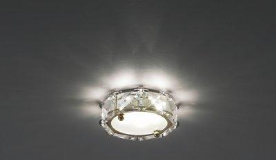 Светильник Novotech 357149Хрустальные<br><br><br>S освещ. до, м2: 3<br>Тип товара: Встраиваемый светильник<br>Цветовая t, К: 4000<br>Тип лампы: LED<br>Количество ламп: 1<br>MAX мощность ламп, Вт: 3<br>Диаметр, мм мм: 95<br>Диаметр врезного отверстия, мм: 60<br>Высота, мм: 52<br>Оттенок (цвет): золото<br>Цвет арматуры: Золотой