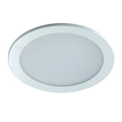 Novotech LUNA 357180 Встраиваемый светильникКруглые LED<br>Встраиваемый светодиодный светильник на базе светодиодных источнтков света модели Novotech 357180 из серии LUNA отличается следующим качеством: Корпус светильника произведен из алюминия. Это металл, основными  достоинствами которого являются — устойчивость к практически всем видам негативного воздействия окружающей среды, коррозии, небольшой вес, по сравнению с другими видами металла и   экологическая безопасность материала.  Рассеиватель  сделан  из  матового пластика. Он отличается повышенной стойкостью к механическим повреждениям и защищенностью от факторов внешней среды.<br><br>Цветовая t, К: 3000<br>Тип лампы: LED<br>MAX мощность ламп, Вт: 24<br>Диаметр, мм мм: 240<br>Диаметр врезного отверстия, мм: 205<br>Высота, мм: 10<br>Цвет арматуры: белый