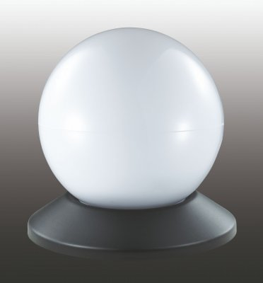 Садовый светильник Novotech 357199В виде шара<br><br><br>Тип товара: Садовый уличный светильник на солнечной батарее<br>Тип лампы: LED - светодиодная<br>Количество ламп: 1<br>MAX мощность ламп, Вт: 0,06<br>Диаметр, мм мм: 130<br>Цвет арматуры: черный
