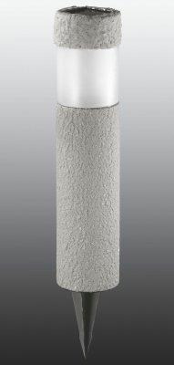 Садовый светильник Novotech 357202Газонные<br><br><br>Тип товара: Садовый уличный светильник на солнечной батарее<br>Цветовая t, К: 4000<br>Тип лампы: LED - светодиодная<br>MAX мощность ламп, Вт: 0,06<br>Диаметр, мм мм: 80<br>Высота, мм: 600<br>Цвет арматуры: серый