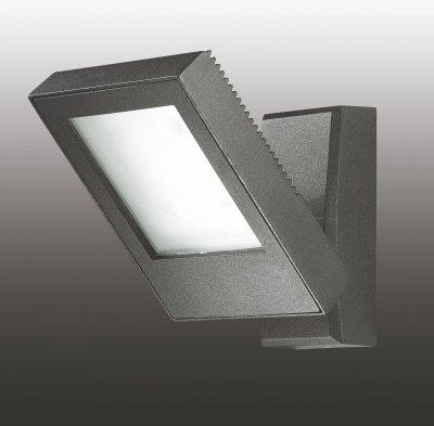 Настенный светильник Novotech 357222Настенные<br><br><br>Тип товара: Настенный светильник бра<br>Цветовая t, К: 4000<br>Тип лампы: LED - светодиодная<br>Ширина, мм: 120<br>MAX мощность ламп, Вт: 4<br>Длина, мм: 80<br>Высота, мм: 200<br>Цвет арматуры: черный