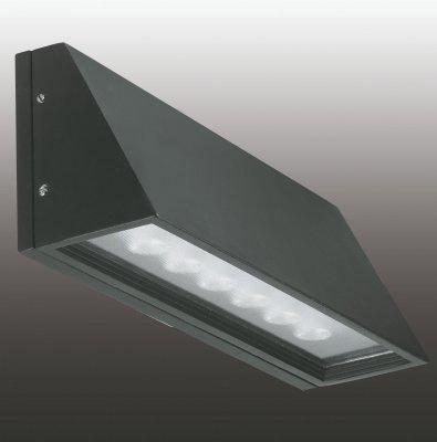 Настенный светильник Novotech 357225Настенные<br><br><br>Тип товара: Настенный светильник бра<br>Цветовая t, К: 4000<br>Тип лампы: LED - светодиодная<br>Ширина, мм: 280<br>MAX мощность ламп, Вт: 6<br>Расстояние от стены, мм: 85<br>Высота, мм: 110<br>Цвет арматуры: черный