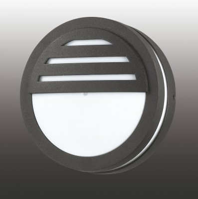 Настенный светильник Novotech 357231Настенные<br><br><br>Тип товара: уличный настенный светильник<br>Тип лампы: галогенная / LED-светодиодная<br>Тип цоколя: GX53<br>Количество ламп: 1<br>MAX мощность ламп, Вт: 9<br>Диаметр, мм мм: 140<br>Высота, мм: 55<br>Цвет арматуры: черный