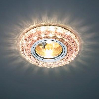 Светильник встраиваемый Novotech 357301 CORALКруглые<br><br><br>Тип товара: Светильник встраиваемый<br>Тип лампы: галогенная/LED<br>Тип цоколя: GX5.3<br>MAX мощность ламп, Вт: 50<br>Диаметр, мм мм: 100<br>Диаметр врезного отверстия, мм: 60<br>Высота, мм: 25<br>Цвет арматуры: серебристый