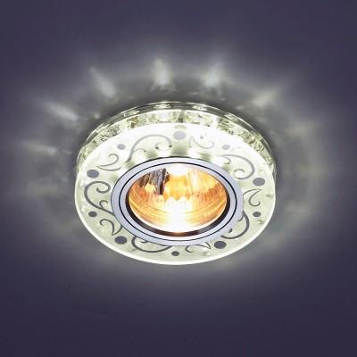Светильник встраиваемый Novotech 357310 RivaДекоративные<br><br><br>Тип товара: Светильник встраиваемый<br>Тип лампы: галогенная/LED<br>Тип цоколя: GX5.3<br>MAX мощность ламп, Вт: 50<br>Диаметр, мм мм: 95<br>Диаметр врезного отверстия, мм: 60<br>Высота, мм: 35<br>Цвет арматуры: серебристый