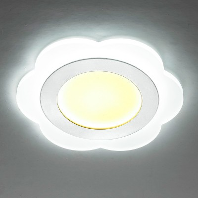 Novotech LAGO 357318 Светильник встраиваемыйКруглые LED<br>Встраиваемый светодиодный светильник со встроенным драйвером модели Novotech 357318 из серии LAGO отличается следующим качеством: Светильник выполнен из акрилового стекла. Акриловое стекло обладает рядом преимуществ, например:- высокая прозрачность (92%, которая сохраняет свой цвет и не меняется с течением времени); - отсутствие осколков при ударе (прочность оргстекла в 5 раз выше, чем у простого стекла); - водостойкость;  - легкость материала (оргстекло гораздо легче, почти в 2,5 раза, по сравнению с обычным стеклом); - высокая пропускная способность ультрафиолетовых лучей, которая составляет около 73%.<br><br>Цветовая t, К: 3000/7000<br>Тип лампы: LED<br>Тип цоколя: LED<br>MAX мощность ламп, Вт: 12<br>Диаметр, мм мм: 160<br>Диаметр врезного отверстия, мм: 70<br>Высота, мм: 50<br>Цвет арматуры: белый
