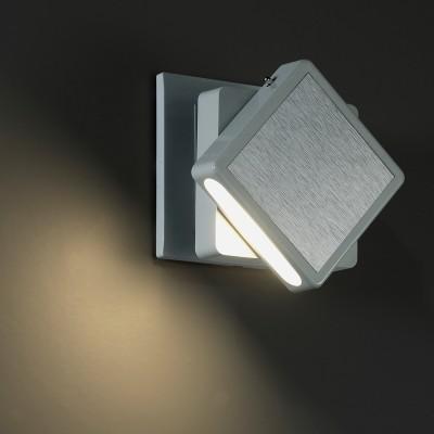 Novotech NIGHT LIGHT 357320 Светильник ночникНочники<br>Светильник-ночник (в розетку) светодиодный с выключателем модели Novotech 357320 из серии NIGHT LIGHT отличается следующим качеством: Корпус светильника сделан из пластика АБС. Преимуществами данного материала являются: 1. Химическая инертность – материал устойчив к воздействию кислот и щелочей, продуктов нефтепереработки; 2. Устойчивость к воздействию влаги;                                                         3. Ударопрочность; 4. Долговечность;  5. Ровная поверхность Поворотный. Удобный выключатель на корпусе.<br><br>Цветовая t, К: 3000<br>Тип лампы: LED<br>Цвет арматуры: серый<br>Ширина, мм: 76<br>Расстояние от стены, мм: 75<br>Высота, мм: 76<br>MAX мощность ламп, Вт: 1.2