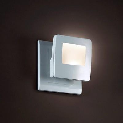 Novotech NIGHT LIGHT 357328 Светильник ночникНочники<br>Светильник-ночник (в розетку) светодиодный с выключателем модели Novotech 357328 из серии NIGHT LIGHT отличается следующим качеством: Корпус светильника сделан из пластика ПК. Преимуществами данного материала являются: 1. Химическая инертность – материал устойчив к воздействию кислот и щелочей, продуктов нефтепереработки; 2. Устойчивость к воздействию влаги; 3. Ударопрочность; 4. Долговечность; 5. Ровная поверхность с выключателям. ВЫКЛЮЧАТЕЛЬ: Влево - зелёный свет В середине - выключение Вправо - синий свет.<br><br>Тип лампы: LED<br>Тип цоколя: LED<br>Ширина, мм: 74<br>MAX мощность ламп, Вт: 0,5<br>Расстояние от стены, мм: 34<br>Высота, мм: 70<br>Цвет арматуры: белый