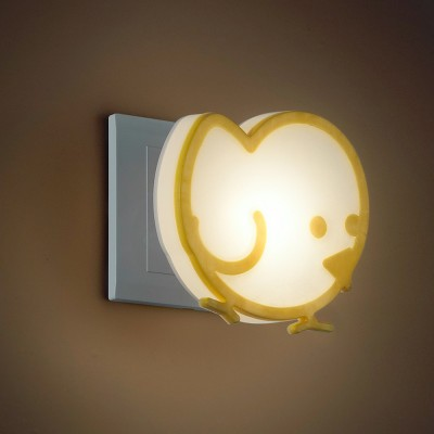 Novotech NIGHT LIGHT 357336 Светильник ночникНочники<br>Светильник-ночник (в розетку) светодиодный с выключателем модели Novotech 357336 из серии NIGHT LIGHT отличается следующим качеством: Корпус светильника сделан из пластика АБС + ПК. Преимуществами данного материала являются: 1. Химическая инертность – материал устойчив к воздействию кислот и щелочей, продуктов нефтепереработки;  2. Устойчивость к воздействию влаги; 3. Ударопрочность; 4. Долговечность; 5. Ровная поверхность.<br><br>Тип лампы: LED<br>Тип цоколя: LED<br>Ширина, мм: 100<br>MAX мощность ламп, Вт: 1<br>Расстояние от стены, мм: 109<br>Высота, мм: 77