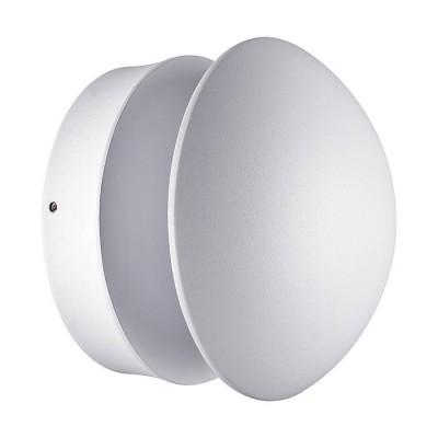Novotech KAIMAS 357433 СветильникУличные настенные светильники<br><br><br>Тип лампы: LED<br>Диаметр, мм мм: 150<br>Высота, мм: 118