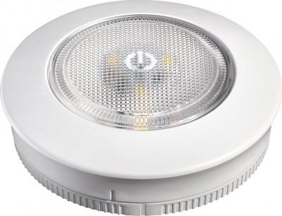 Мебельный светильник Novotech 357438 MADERAмебельные встраиваемые светильники<br>Мебельный накладной светильник, материал - пластик АБС + поликарбонат. Нажимайка ON/OFF