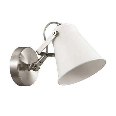 Бра Lumion 3591/1W ARUDLISОдиночные<br>Серию Arudlis отличает минималистичный дизайн, который дополнен круглым кольцом на основании, что придает серии легкости и динамичности. Каркас светильника окрашен в белый цвет с матовым никелем, плафоны выполнены из металла. Такой светильник подойдет практически к любому дизайнерскому стилю, но лучше всего его использовать в стиле минимализм, модерн или современная классика<br><br>S освещ. до, м2: 3<br>Тип лампы: Накаливания / энергосбережения / светодиодная<br>Тип цоколя: E27<br>Количество ламп: 1<br>Ширина, мм: 120<br>Расстояние от стены, мм: 225<br>Высота, мм: 180<br>Оттенок (цвет): белый с матовым никелем<br>MAX мощность ламп, Вт: 60