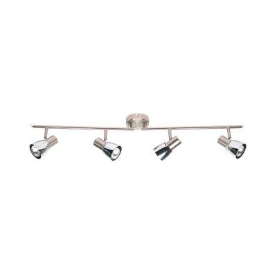 Светильник Brilliant 39532/77 LavaС 4 лампами<br>Светильники-споты – это оригинальные изделия с современным дизайном. Они позволяют не ограничивать свою фантазию при выборе освещения для интерьера. Такие модели обеспечивают достаточно качественный свет. Благодаря компактным размерам Вы можете использовать несколько спотов для одного помещения.  Интернет-магазин «Светодом» предлагает необычный светильник-спот Brilliant 39532/77 по привлекательной цене. Эта модель станет отличным дополнением к люстре, выполненной в том же стиле. Перед оформлением заказа изучите характеристики изделия.  Купить светильник-спот Brilliant 39532/77 в нашем онлайн-магазине Вы можете либо с помощью формы на сайте, либо по указанным выше телефонам. Обратите внимание, что у нас склады не только в Москве и Екатеринбурге, но и других городах России.<br><br>S освещ. до, м2: 10<br>Тип лампы: накал-я - энергосбер-я<br>Тип цоколя: E14<br>Цвет арматуры: серебристый<br>Количество ламп: 4<br>Ширина, мм: 880<br>Выступ, мм: 180<br>Длина, мм: 880<br>MAX мощность ламп, Вт: 40
