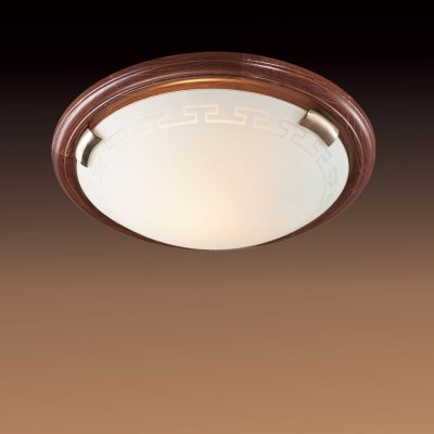Светильник Сонекс 360 бронза GrecaКруглые<br>Настенно потолочный светильник Сонекс (Sonex) 360 подходит как для установки в вертикальном положении - на стены, так и для установки в горизонтальном - на потолок. Для установки настенно потолочных светильников на натяжной потолок необходимо использовать светодиодные лампы LED, которые экономнее ламп Ильича (накаливания) в 10 раз, выделяют мало тепла и не дадут расплавиться Вашему потолку.<br><br>S освещ. до, м2: 20<br>Тип лампы: накаливания / энергосбережения / LED-светодиодная<br>Тип цоколя: E27<br>Количество ламп: 3<br>MAX мощность ламп, Вт: 100<br>Диаметр, мм мм: 560<br>Цвет арматуры: бронзовый