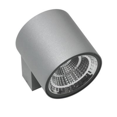 Светильник светодиодный уличный настенный Lightstar 360694 Paroуличные настенные светильники<br>Крепление: a45; Внешние габариты: D91 L126 H90; Материал - основание/плафон: металл; Цвет-основание/плафон: серый; Лампа: LED 10W, Световой поток: 800LM; Угол рассеивания: 28G; Встроенный транcформатор 4000К;