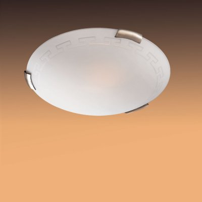 Светильник Сонекс 361 бронза GrecaКруглые<br>Настенно потолочный светильник Сонекс (Sonex) 361  подходит как для установки в вертикальном положении - на стены, так и для установки в горизонтальном - на потолок. Для установки настенно потолочных светильников на натяжной потолок необходимо использовать светодиодные лампы LED, которые экономнее ламп Ильича (накаливания) в 10 раз, выделяют мало тепла и не дадут расплавиться Вашему потолку.<br><br>S освещ. до, м2: 20<br>Тип лампы: накаливания / энергосбережения / LED-светодиодная<br>Тип цоколя: E27<br>Цвет арматуры: бронзовый<br>Количество ламп: 3<br>Диаметр, мм мм: 500<br>MAX мощность ламп, Вт: 100