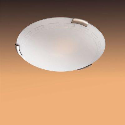 Светильник Сонекс 161 бронза GrecaКруглые<br>Настенно потолочный светильник Сонекс (Sonex) 161  подходит как для установки в вертикальном положении - на стены, так и для установки в горизонтальном - на потолок. Для установки настенно потолочных светильников на натяжной потолок необходимо использовать светодиодные лампы LED, которые экономнее ламп Ильича (накаливания) в 10 раз, выделяют мало тепла и не дадут расплавиться Вашему потолку.<br><br>S освещ. до, м2: 6<br>Тип товара: Светильник настенно-потолочный<br>Тип лампы: накаливания / энергосбережения / LED-светодиодная<br>Тип цоколя: E27<br>Количество ламп: 1<br>MAX мощность ламп, Вт: 100<br>Диаметр, мм мм: 300<br>Цвет арматуры: бронзовый