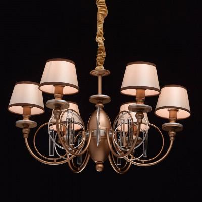 Mw light 361011206 СветильникПодвесные<br><br><br>Установка на натяжной потолок: Да<br>S освещ. до, м2: 12<br>Тип лампы: Накаливания / энергосбережения / светодиодная<br>Тип цоколя: E14<br>Количество ламп: 6<br>MAX мощность ламп, Вт: 40<br>Диаметр, мм мм: 700<br>Высота, мм: 550 - 900