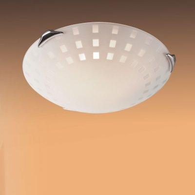 Светильник Сонекс 362 хром WhiteКруглые<br>Настенно потолочный светильник Сонекс (Sonex) 362 подходит как для установки в вертикальном положении - на стены, так и для установки в горизонтальном - на потолок. Для установки настенно потолочных светильников на натяжной потолок необходимо использовать светодиодные лампы LED, которые экономнее ламп Ильича (накаливания) в 10 раз, выделяют мало тепла и не дадут расплавиться Вашему потолку.<br><br>S освещ. до, м2: 20<br>Тип лампы: накаливания / энергосбережения / LED-светодиодная<br>Тип цоколя: E27<br>Количество ламп: 3<br>MAX мощность ламп, Вт: 100<br>Диаметр, мм мм: 500<br>Цвет арматуры: серебристый