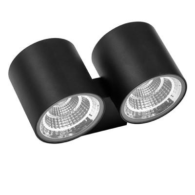 Светильник светодиодный уличный настенный Lightstar 362672 Paroуличные настенные светильники<br>Крепление: a58; Внешние габариты: L126 W203 H90; Материал - основание/плафон: металл/стекло; Цвет-основание/плафон: черный; Лампа: LED 2*2*8W, Световой поток: 2540LM; Угол рассеивания: 28G; Встроенный транcформатор 3000К;