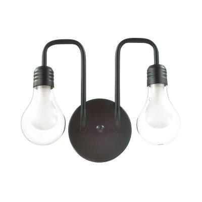 Бра Lumion 3636/2W NATTUОжидается<br><br><br>Тип цоколя: G9<br>Цвет арматуры: чёрный/стекло<br>Количество ламп: 1<br>MAX мощность ламп, Вт: 40