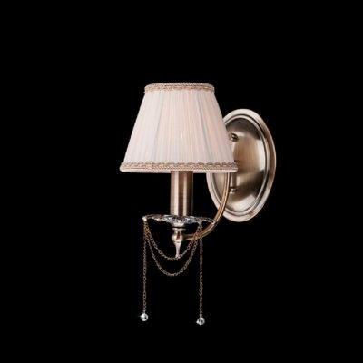 Светильник Eurosvet 3645/1 античная бронза/прозрачный хрустальКлассика<br><br><br>S освещ. до, м2: 4<br>Тип товара: Светильник настенный бра<br>Тип лампы: накаливания / энергосбережения / LED-светодиодная<br>Тип цоколя: E14<br>Количество ламп: 1<br>Ширина, мм: 170<br>MAX мощность ламп, Вт: 60<br>Расстояние от стены, мм: 200<br>Высота, мм: 250<br>Цвет арматуры: бронзовый