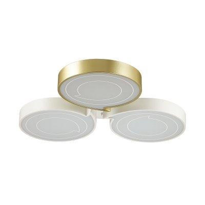 Люстра потолочная Lumion 3646/60CL DILIPОжидается<br><br><br>Цветовая t, К: 4000K<br>Тип цоколя: LED<br>Цвет арматуры: белый/золотой<br>Количество ламп: 1<br>Поверхность арматуры: матовый<br>MAX мощность ламп, Вт: 60