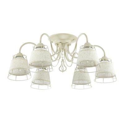 Люстра потолочная Lumion 3663/6C LINDSAYОжидается<br><br><br>Тип цоколя: E14<br>Цвет арматуры: белый/золотой<br>Количество ламп: 6<br>MAX мощность ламп, Вт: 60