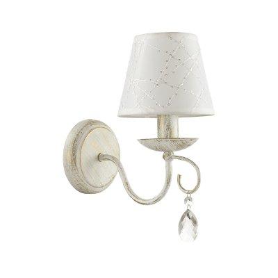Бра Lumion 3686/1W BLANCHEОжидается<br><br><br>Тип цоколя: E14<br>Цвет арматуры: белый/золотая<br>Количество ламп: 1<br>MAX мощность ламп, Вт: 40