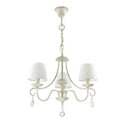 Люстра подвесная Lumion 3686/3 BLANCHEОжидается<br><br><br>Тип цоколя: E14<br>Цвет арматуры: белый/золотая<br>Количество ламп: 3<br>MAX мощность ламп, Вт: 40