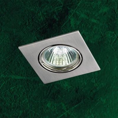 Точечный светильник 369106 Novotech никель Quadro