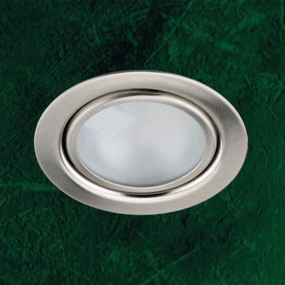 Встраиваемы светильник 369120 Novotech никель Flat