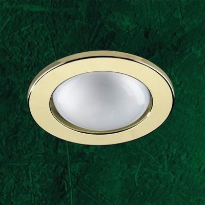 Точечный светильник 369136 Novotech золото R80 BaseC лампой накаливания<br>Светильники для зеркальной лампы накаливания. Материал: штампованная сталь. Напряжение: - 220V. IP 20<br><br>S освещ. до, м2: 6<br>Тип товара: Точечный встраиваемый светильник<br>Тип лампы: накал-я - энергосбер-я<br>Тип цоколя: R80<br>Количество ламп: 1<br>MAX мощность ламп, Вт: 100<br>Диаметр, мм мм: 120<br>Диаметр врезного отверстия, мм: 90<br>Цвет арматуры: Золотой