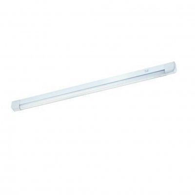 Светильник люминесцентный 369151 Novotech с лампой белый 18W SideС лампой T8<br><br><br>Тип товара: Линейный люминисцентный<br>Тип лампы: люминесцентная<br>Тип цоколя: G13<br>Количество ламп: 1<br>Ширина, мм: 65<br>MAX мощность ламп, Вт: 18W<br>Диаметр врезного отверстия, мм: 0<br>Длина, мм: 675<br>Высота, мм: 35<br>Цвет арматуры: белый свет