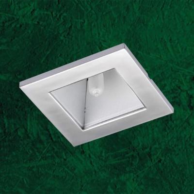 Точечный светильник 369168 Novotech серый Quadro IIКвадратные<br>Светильники неповоротные для капсульных галогенных ламп с защитным стеклом. Материал: алюминиевое литье. Напряжение: - 220V. IP 20<br><br>S освещ. до, м2: 2<br>Тип товара: Точечный встраиваемый светильник<br>Тип лампы: галогенная<br>Тип цоколя: G9<br>Количество ламп: 1<br>Ширина, мм: 90<br>MAX мощность ламп, Вт: 40<br>Диаметр врезного отверстия, мм: 76<br>Длина, мм: 90<br>Высота, мм: 78<br>Цвет арматуры: серый
