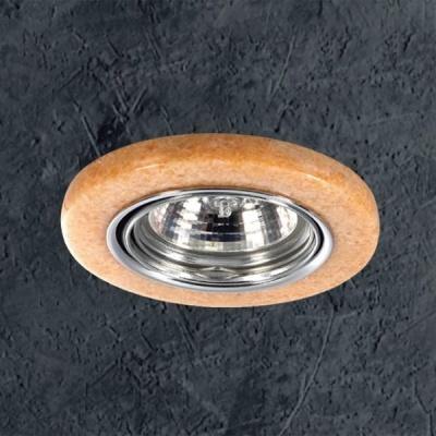 Светильник Novotech 369281 хром розовый камень