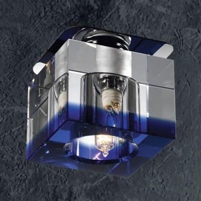 Novotech AQUARELLE 369295 Встраиваемый светильникКвадратные<br>Светильники для низковольтных галогенных ламп. Материал: алюминиевое литье. Хрусталь.<br><br>S освещ. до, м2: 2<br>Тип лампы: галогенная<br>Тип цоколя: G9<br>Количество ламп: 1<br>MAX мощность ламп, Вт: 40<br>Диаметр, мм мм: 70<br>Диаметр врезного отверстия, мм: 53<br>Высота, мм: 70<br>Цвет арматуры: серебристый